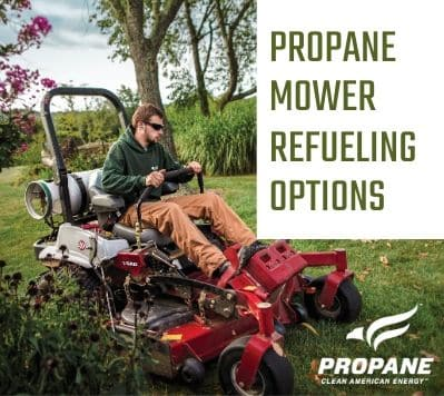 Propane Mower Refueling Options